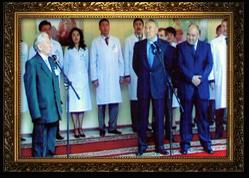 С Президентом Республики Казахстан Нурсултаном Абишевичем Назарбаевым