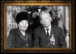 Жаксыбаев Абдуали с супругой