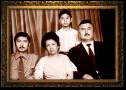 Хевизов Сирдаш в кругу семьи
