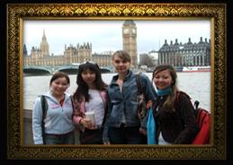 Студентки ЕврАзИРа на стажировке. Лондон