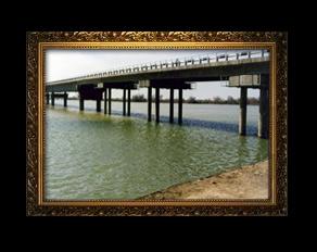 Мост через реку Сырдарья на автодороге Кызыласкер-Кировское