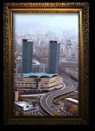 Транспортная эстакада на ул. Сатпаева