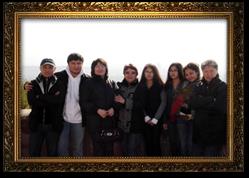 Семья Т.К.Супиева на отдыхе (слева направо), 2008 год: Ботабаев Б.К.-зять, Супиев А.Т.-сын, Супиева Э.Т. -дочь, Исмаилова М.И.- жена, Ботабаева Анеля - внучка, Ботабаева Адиля-внучка, Ботабаева Элина - внучка, Супиев Т.К.